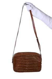 Chloé - Kroko-Umhänge-Tasche