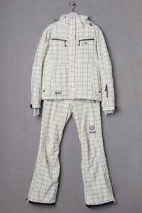 K-TEC - Winter-Ski-Anzug mit Karo-Muster - M
