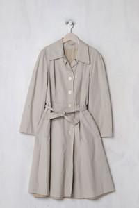 Mantel mit Gürtel - XL
