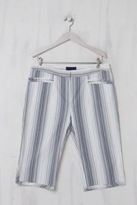 KENZO - Capri-Hose aus Baumwolle mit Streifen - XXL