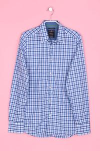 TOM TAILOR - Karo-Bluse aus Baumwolle - S