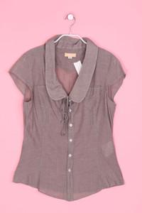 DIESEL - Kurzarm-Bluse aus Baumwolle - L