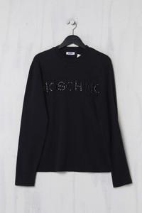 MOSCHINO JEANS - Sweatshirt aus Baumwolle mit Logo-Applikation - M
