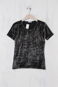 SCHILD let´s chic - Samt-Shirt - M