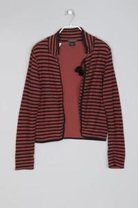 MAISON SCOTCH - leichte Jacke aus Baumwolle mit Streifen - S