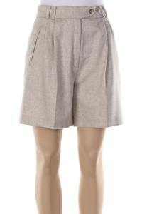 Etienne Aigner - High Waist-Shorts mit Angora - S