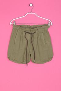 ZARA trf - Baumwoll-Shorts aus Crêpe mit Tunnelzug - XS