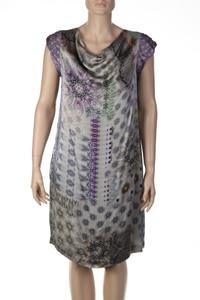 ETRO MILANO - Print-Kleid aus Viskose mit Seide - M