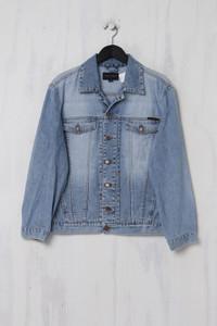 GANT JEANS - Vintage Style-Jeans-Jacke im Used Look - L