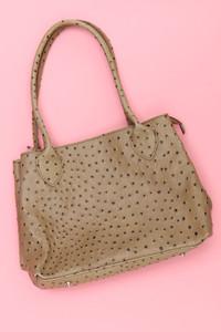 Handtasche mit Pünktchen