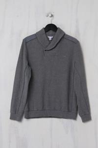 Calvin Klein - Sweatshirt mit Logo-Plakette - S