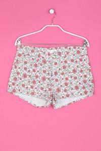 H&M - Hotpants mit floralem Muster - M