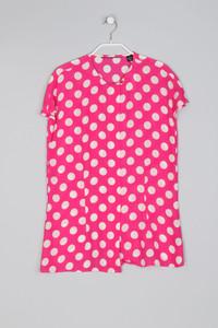 Seiden-Bluse aus Seide mit Polka Dots - M