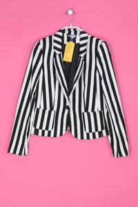 H&M DIVIDED - Streifen-Blazer mit Viskose - XS