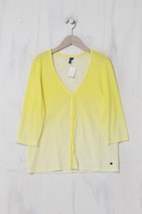 CECIL - leichte Jacke aus Baumwolle mit Dip Dye-Effekt - M