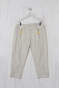 MAC JEANS - Capri-Hose aus Baumwolle mit Reißverschluss - L