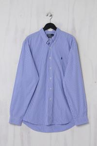 Polo by Ralph Lauren - Button-down-Hemd aus Baumwolle mit Streifen - XL
