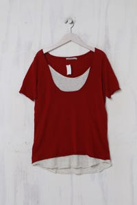 KOOKAÏ - Shirt aus Baumwolle im Layer Look - L