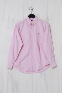 RALPH LAUREN - Button-down-Hemd mit Logo-Stickerei aus Baumwolle - S