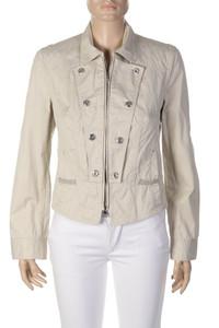 MARC CAIN - leichte Jacke mit Reißverschluss aus Baumwoll-Mix - XS
