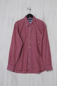 TOMMY HILFIGER - gestreiftes Button-down-Hemd aus Baumwolle - XL
