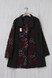 Mantel mit Viskose - XL