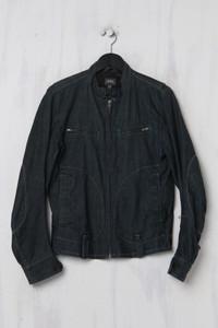 G-STAR - Jeans-Jacke aus Baumwolle mit Logo-Patch - S