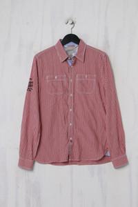 Pepe Jeans London - Casual-Hemd mit Karo-Muster mit Logo-Stickerei - S