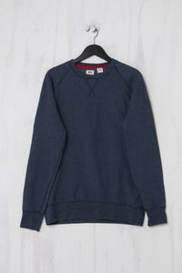 Levi´s - Pullover aus Baumwoll-Mix mit Logo-Patch - L