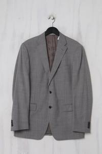 VERSACE COLLECTION - Sakko aus Woll-Tuch mit Streifen - L