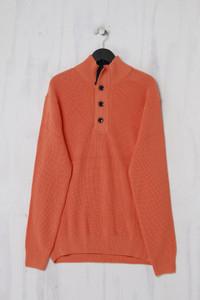 GANT - Baumwoll-Pullover mit Stehkragen - XL