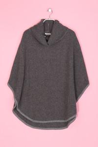 Camaieu - Strick-Poncho mit Wolle - M