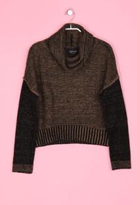 Zara Knit - Oversize-Strick-Pullover mit Rollkragen - S