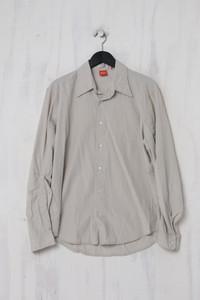 BOSS HUGO BOSS - Casual-Hemd aus Baumwolle mit Drapierung - L