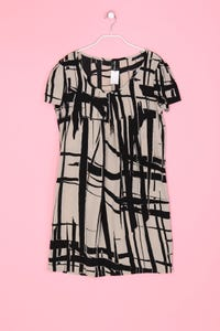 STILE BENETTON - Shift-Kleid mit Print - S