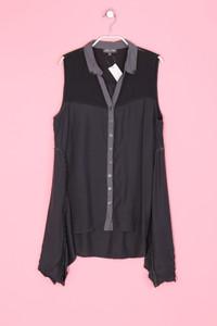 Clara Vitti - Bluse ohne Ärmel mit asymmetrischem Schnitt - XL