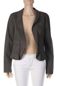 MARC CAIN - Used Look-Blazer-Jacke aus Baumwoll-Mix - M