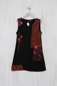 C´Fait Pour Vous - Kleid im Patchwork-Stil mit Wolle - M
