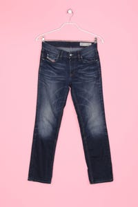 Diesel Industry - Used Look-Jeans mit Stretch - XS