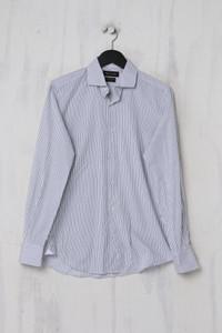Massimo Dutti - gestreiftes Hemd aus Baumwolle - M