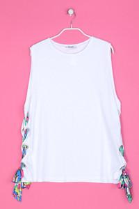 ZARA TRAFALUC - Oversize-Shirt mit Schnürung - L