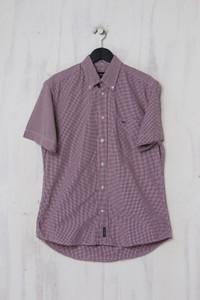 McGregor - Kurzarm-Hemd aus Baumwolle mit Karo-Muster - M