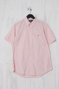 Polo by Ralph Lauren - Kurzarm-Hemd mit Button-down-Kragen - L
