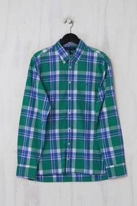 TOMMY HILFIGER - Casual-Hemd mit Karo-Muster mit Logo-Stickerei aus Baumwolle - L