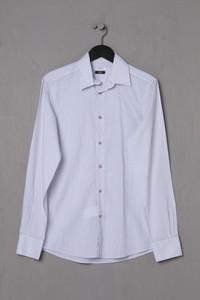 VERSACE COLLECTION - gestreiftes Hemd aus Baumwolle - S