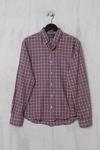 Polo by Ralph Lauren - Casual-Hemd mit Karo-Muster mit Logo-Stickerei - M